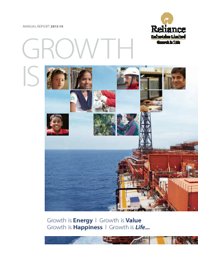 Reliance Industries annual report 2014