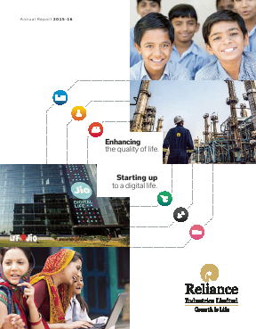 Reliance Industries annual report 2016