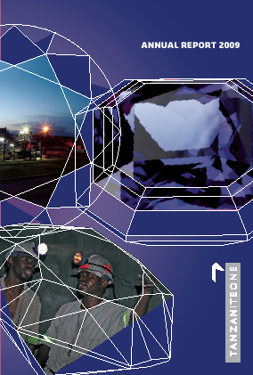 Richland Resources annual report 2009