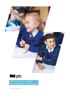 RM Plc annual report 2016