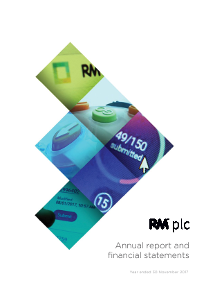 RM Plc annual report 2017