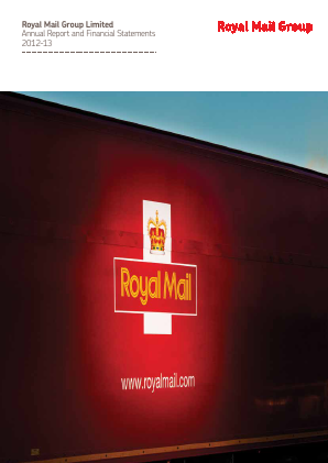 Royal Mail Plc annual report 2012