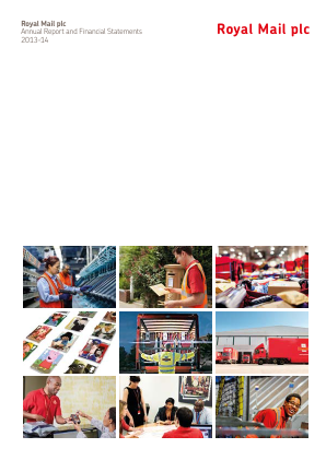 Royal Mail Plc annual report 2013