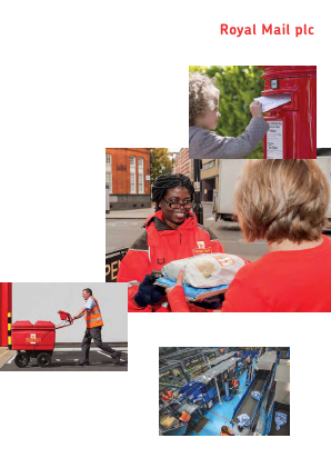 Royal Mail Plc annual report 2014