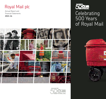 Royal Mail Plc annual report 2015