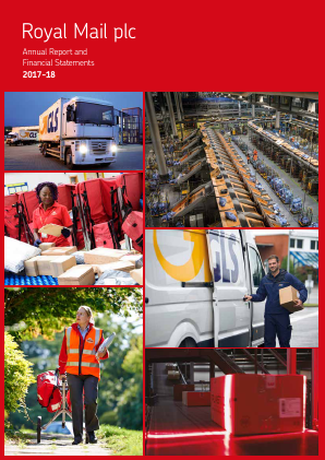 Royal Mail Plc annual report 2018