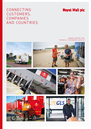 Royal Mail Plc annual report 2019