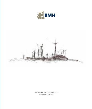 RMB Holdings annual report 2016
