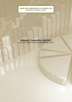 River and Mercantile UK Micro Cap Investment Company annual report 2016