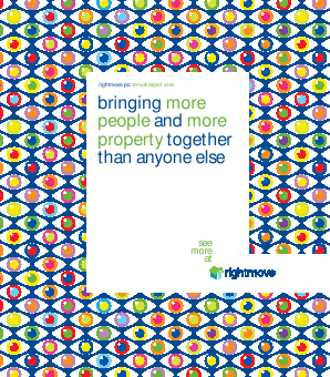 Rightmove Plc annual report 2008