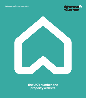 Rightmove Plc annual report 2016