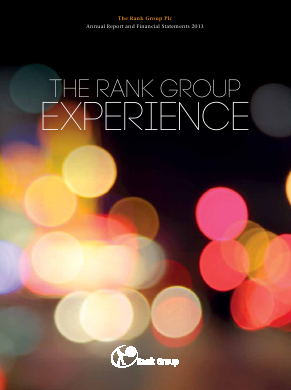Rank Group annual report 2013