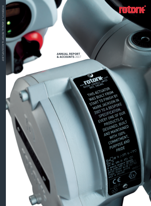 Rotork annual report 2007