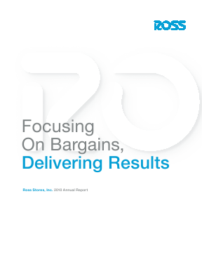 Ross Stores,  Inc. annual report 2010