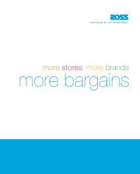 Ross Stores,  Inc. annual report 2011