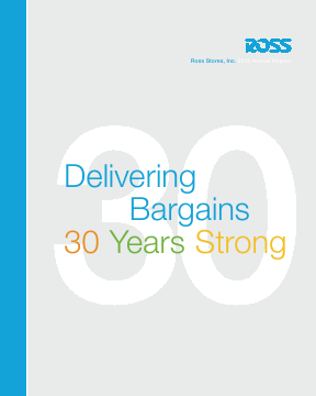 Ross Stores,  Inc. annual report 2012