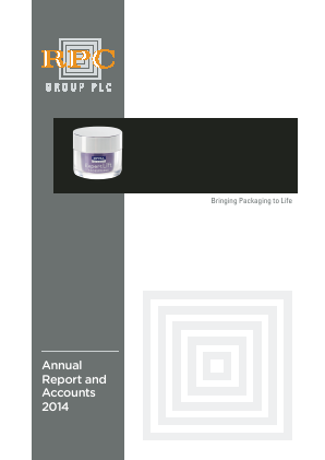 RPC Group annual report 2014