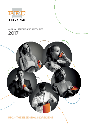 RPC Group annual report 2017