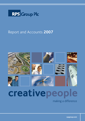 RPS Group annual report 2007