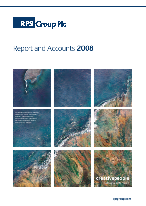 RPS Group annual report 2008