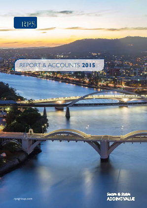 RPS Group annual report 2015