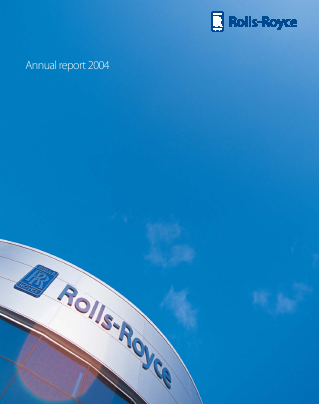 Rolls-royce Holdings Plc annual report 2004
