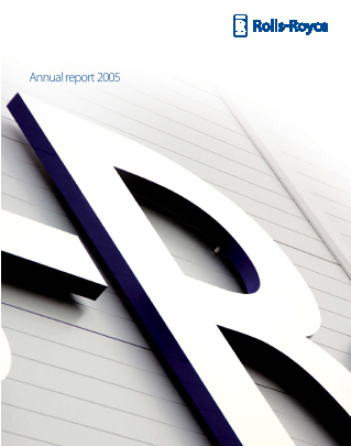 Rolls-royce Holdings Plc annual report 2005