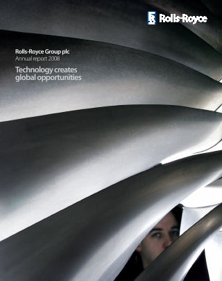 Rolls-royce Holdings Plc annual report 2008