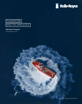 Rolls-royce Holdings Plc annual report 2010