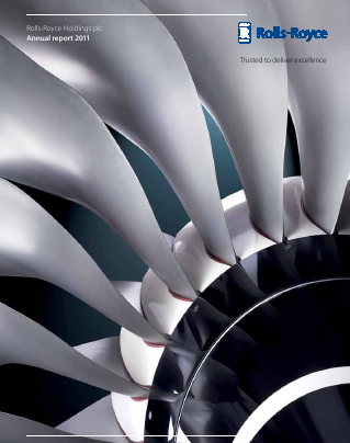Rolls-royce Holdings Plc annual report 2011