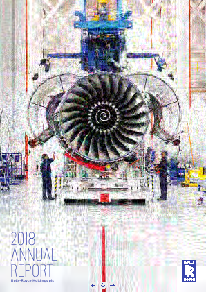 Rolls-royce Holdings Plc annual report 2018