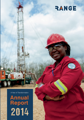 Range Resources annual report 2014