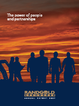 Randgold Resources annual report 2007