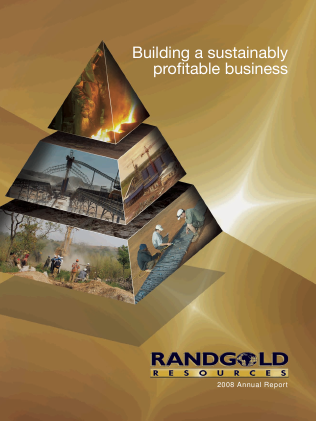 Randgold Resources annual report 2008