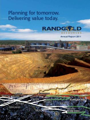 Randgold Resources annual report 2011