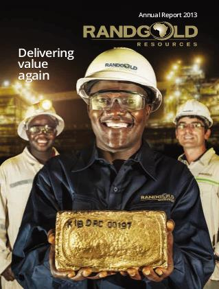 Randgold Resources annual report 2013