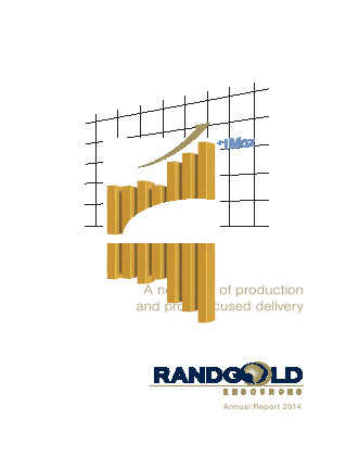 Randgold Resources annual report 2014