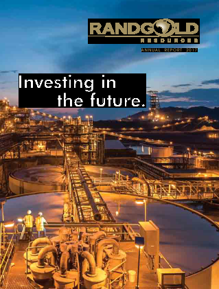Randgold Resources annual report 2017