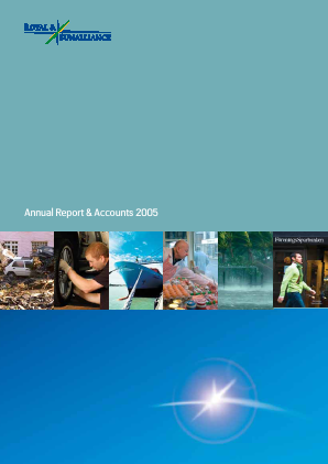 RSA Insurance Group Plc annual report 2005