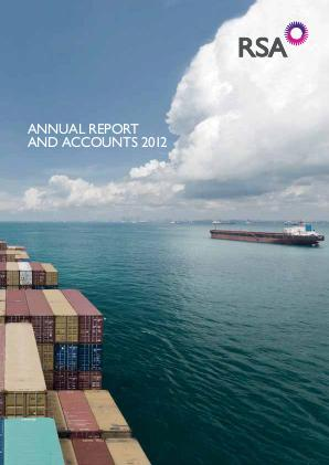 RSA Insurance Group Plc annual report 2012