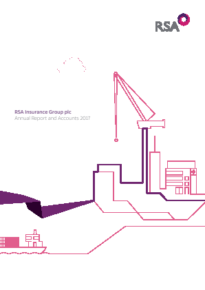 RSA Insurance Group Plc annual report 2017