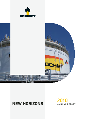 Rosneft Oil annual report 2010
