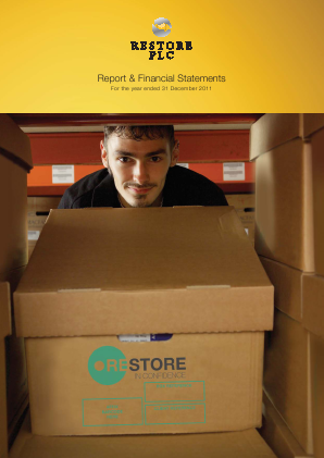 Restore Plc (formally Mavinwood) annual report 2011