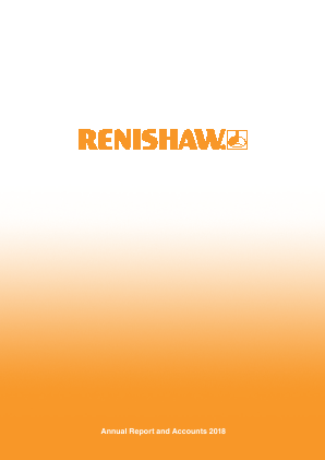 Renishaw Plc annual report 2018