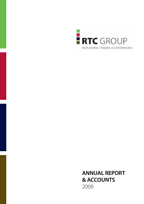 RTC Group Plc annual report 2009