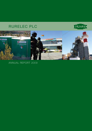 Rurelec annual report 2009