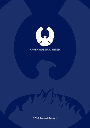 Raven Russia Ltd annual report 2016