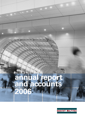 Robert Walters annual report 2006