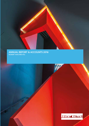 Robert Walters annual report 2016