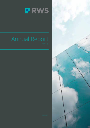 RWS Holdings annual report 2017
